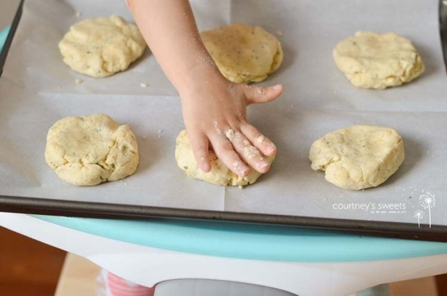 Buttery Parmesan and Parsley Biscuits
