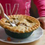 Triple Chocolate Mousse Pie with Marie Callender's Pot Pie