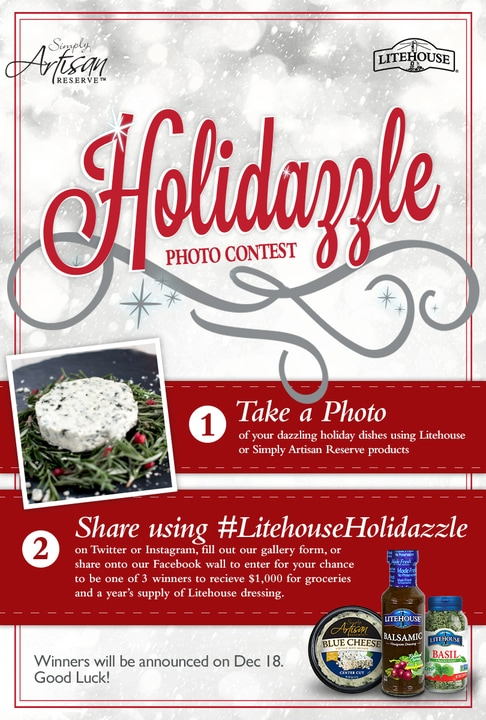 Holidazzle Litehouse Sweepstakes
