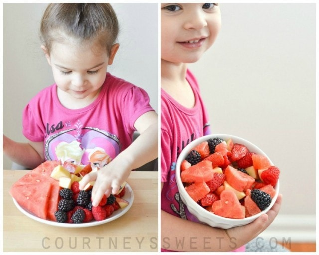 Easy Fruit Salad Recipe for Valentine's Day