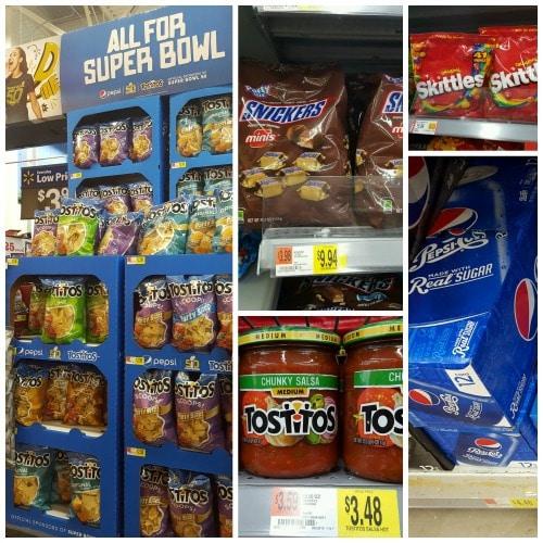 Game Day Snacking at Walmart