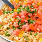 Quick and Easy Mediterranean Rice Pilaf - Vegan Rice Dish made in less than 20 minutes