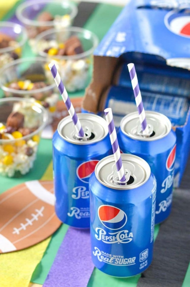 Pepsi Slushies, Best 7 Layer Taco Dip Recipe and more for Game Day