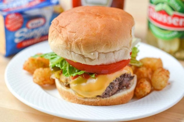The Best Cheeseburger Recipe