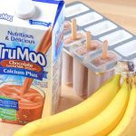 Chocolate Banana Ice Pops