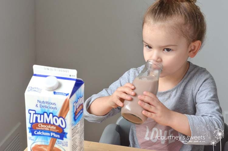 These Chocolate Banana Ice Pops are a nutritious treat for all using NEW TruMoo Calcium Plus