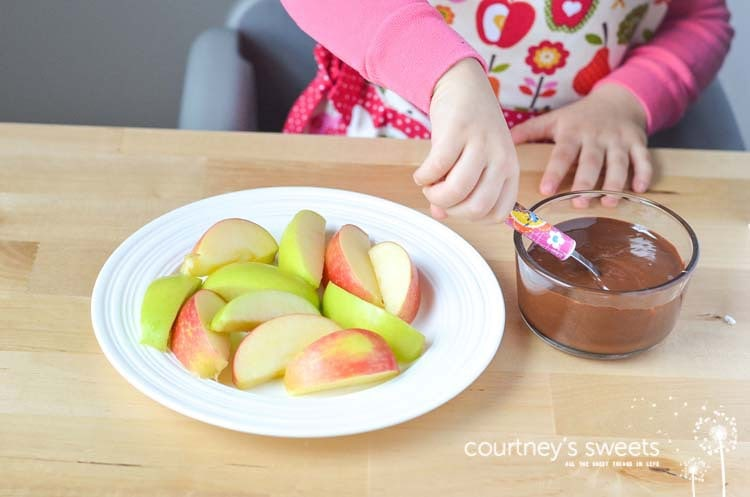 Our easy Chocolate Caramel Apple Nachos Recipe is FUN way to eat an apple a day!