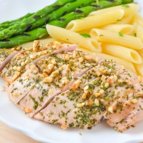 Garlic and Parsley Baked Chicken Breasts with Perdue Simply Smart