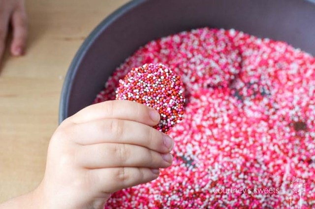 chocolate candy nonpareils