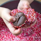 Homemade Chocolate Nonpareils - Super fun, easy and delicious candy recipe