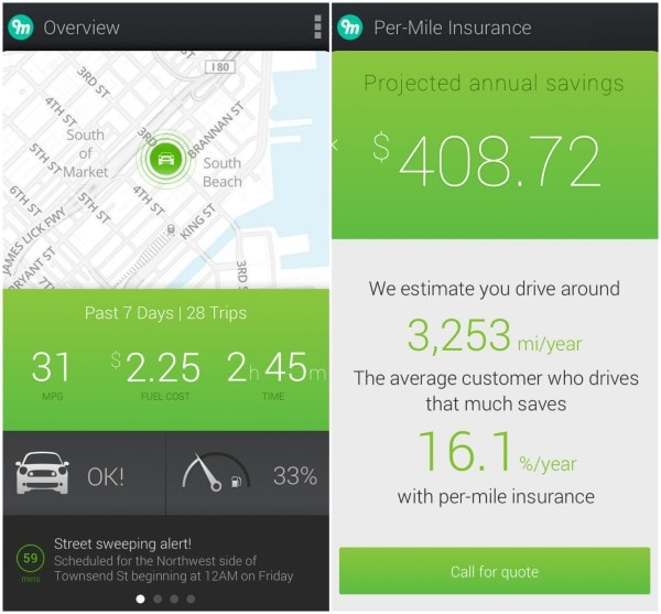Metromile affordable car insurance