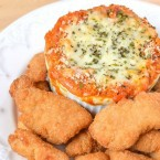 Parmesan Chicken Nugget Dip - a fun and delicious recipe for your chicken nuggets on Mini Chef Mondays