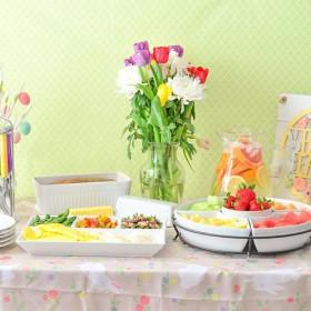 Easter Brunch made easier with Kohls Spring Tablescape