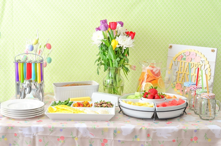 Easter Brunch made easier with Kohls Spring Tablescape