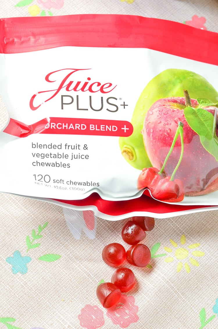 Healthy Food Lifestyle Change with Juice Plus+ Challenge