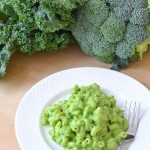 Healthy Mac and Cheese Recipe Green for St Patrick's Day!