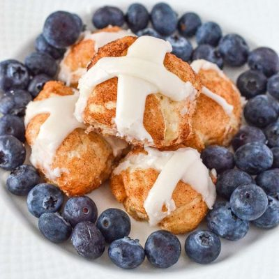 Jesus Resurrection Hot Cross Cinnamon Buns Recipe