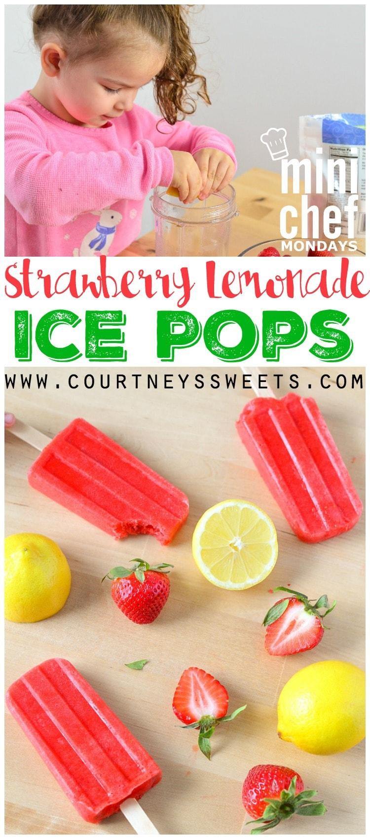 Fruity Lemonade Ice Pops Recipe — Dishmaps