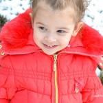 Stylish, Warm and Cozy in Ruffles | Chasing Fireflies Puffer Coat