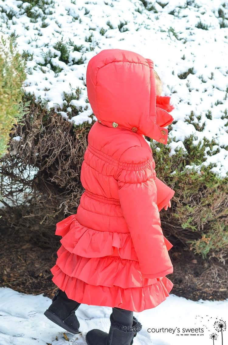 Stylish, Warm and Cozy in Ruffles |Chasing Fireflies Puffer Coat