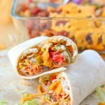 Our Chicken Burritos Recipe is super easy to make and it's so delicious. Make a perfect dinner in less than an hour. Super budget friendly meal and you can have leftovers for days by bulking up with other ingredients.