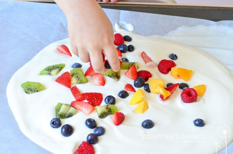 fruit bark recipe