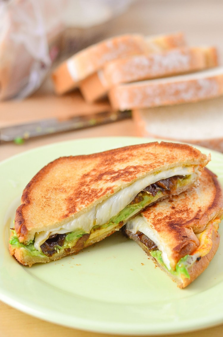 The American Muenster Grilled Cheese Sandwich Recipe Courtney S