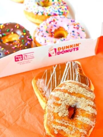 Mommy and Me Donut Date, spending time together and munching on tasty delicious donuts from Dunkin' Donuts.
