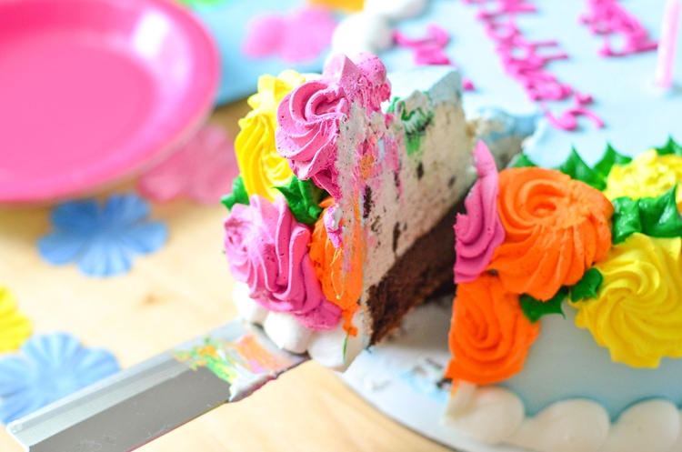 The Almost Perfect Mothers Day ps ice cream cake Baskin
