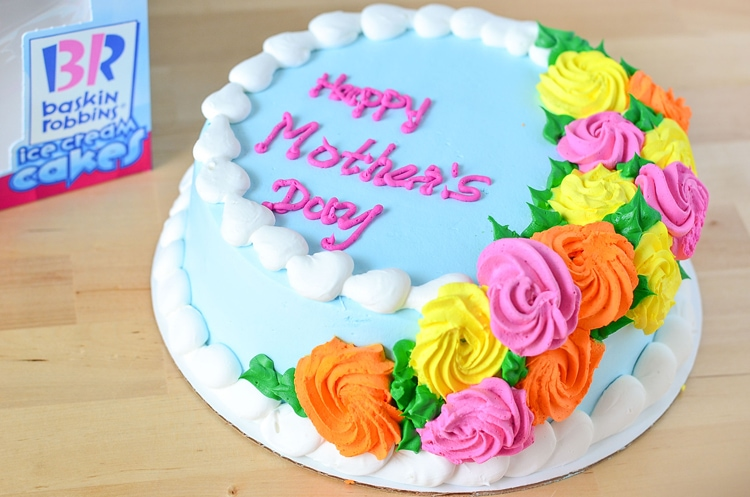 The Almost Perfect Mother's Day | p.s. ice cream cake (Baskin-Robbins)