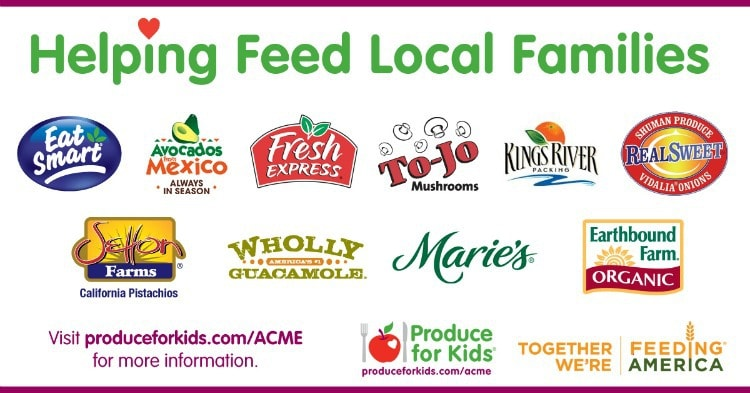 Feeding America with Produce for Kids & ACME