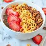 Breakfast Bowl Recipe | Strawberry Banana Smoothie with Cheerios™