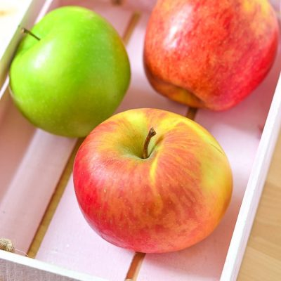 Easy Healthy Snack Recipe Sliced Apples for Kids