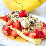 Breakfast Banana Split Recipe
