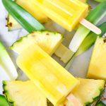 Pineapple Lemonade Ice Pops