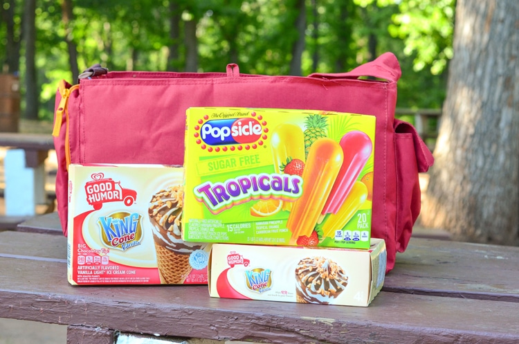 Popsicle and King Cone at the Park, find out what your flavors are by taking a fun quiz and also enter to win a Cooler, GoPro and more!!