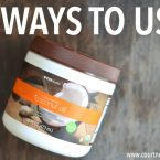 5 Ways to use Coconut Oil Care Pack Giveaway / Natural Healing for the Cold Winter Months
