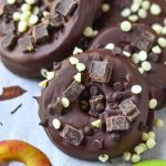 Chocolate Covered Apple Donuts