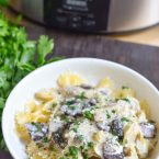Our delicious Creamy Slow Cooker Chicken with Mushrooms and Artichokes recipe is a quick and easy no muss no fuss dinner recipe to throw into the Crock Pot and let it do it's thing! Have a delicious home cooked meal ready when you come home. Make extra, because you'll want leftovers! Wow your guests for entertaining with this beautiful and tasty dish.