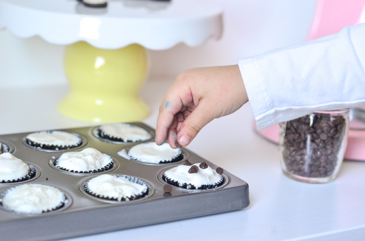 Mini Ice Cream Brownie Muffins - National Kids Take Over the Kitchen Day Easy Recipes and Fun for the family