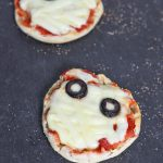 Our mini mummy pizza pie is a great way to get into Mini Chef Mondays with your child and celebrate with a Halloween recipe!