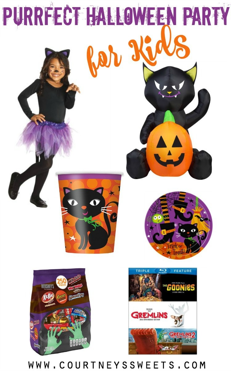throw the purrfect halloween party for kids on a budget when shopping with walmartcom
