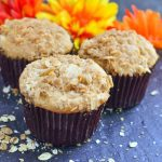 Apple Streusel Muffins with Applesauce