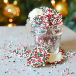 White Chocolate Nonpareils – Christmas Nonpareils