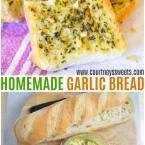 homemade garlic bread recipe