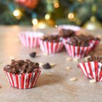 Easy candy recipe, Chocolate Peanut Butter Balls Rice Krispies! Great for gift giving during the holiday season or even enjoy as a quick snack.