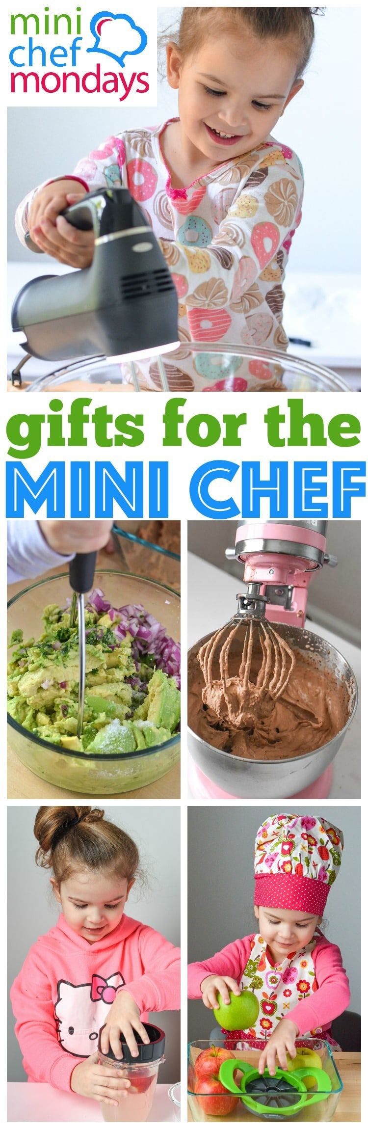 Our Top holiday picks, best gifts for mini chefs! Holiday shopping for kids presents to cook in the kitchen and of course Mini Chef Mondays!