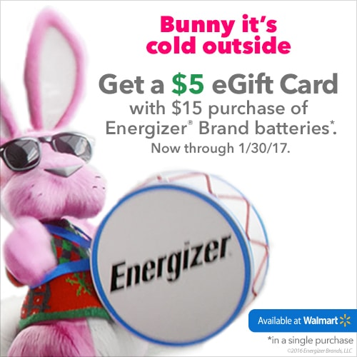 Holiday Fun Must Have - Batteries! Toys on the holidays are nothing without power. Money saving deal + gift card offer.