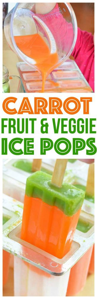 carrot ice pops easter recipes dessert ice pops fun easter dessert for kids to make using fresh vegetable juice fruit juice in a slow juicer