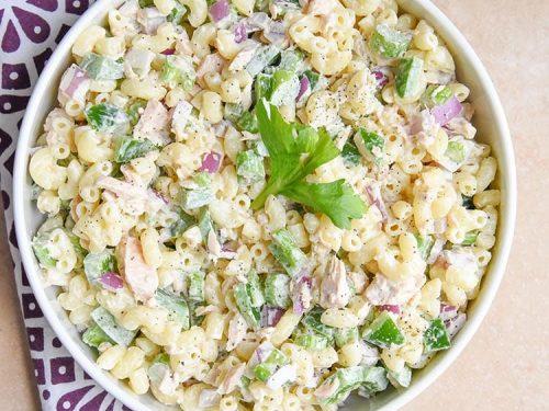 Tuna Macaroni Salad Courtney S Sweets
